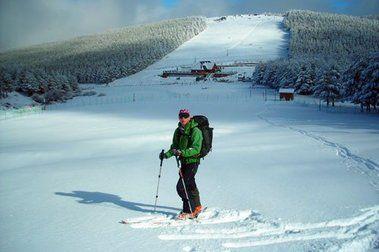 Esquiando en La Ragua