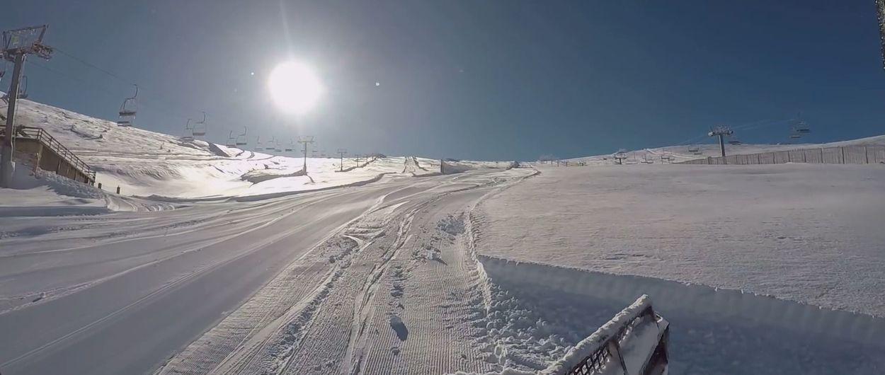 Valdesquí abre sus puertas por primera vez esta temporada