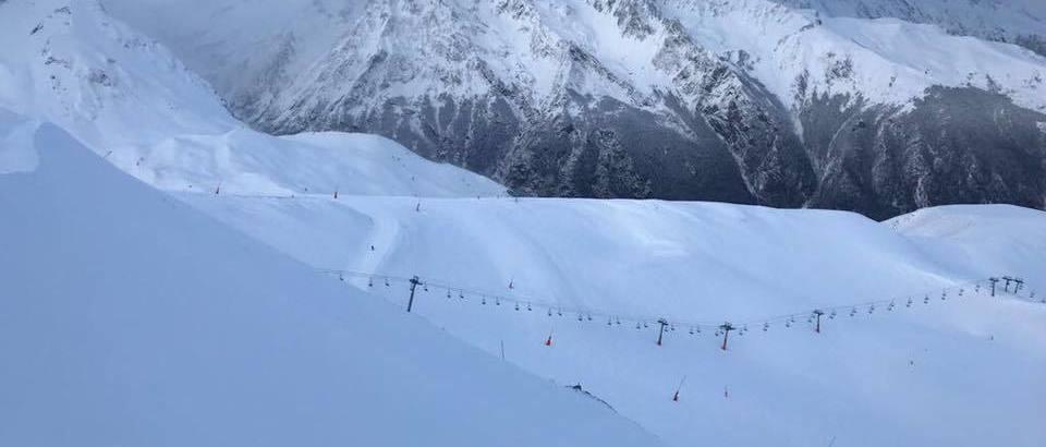 Les Pyrenees 2 Vallees ya superan 1,5 metros de espesor