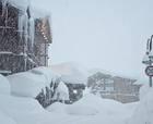 Los Alpes se desbordan por las nevadas