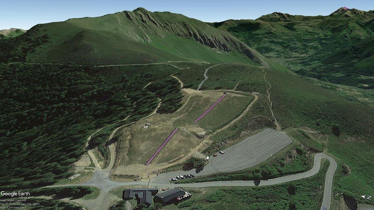 Vistas Google Earth Val d'Azun 2018-19