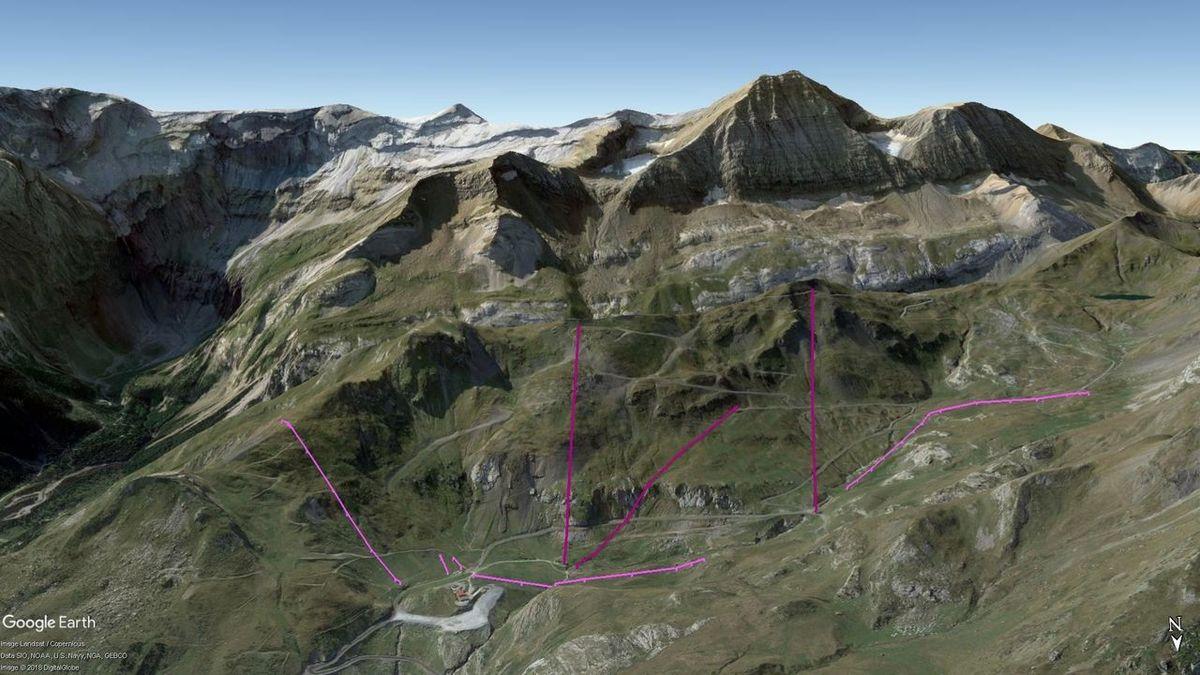 Vistas Google Earth Gavarnie 2018-19