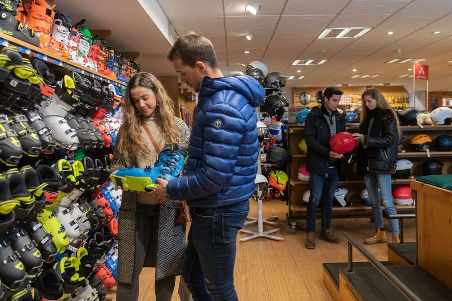 Andorra Shopping ski