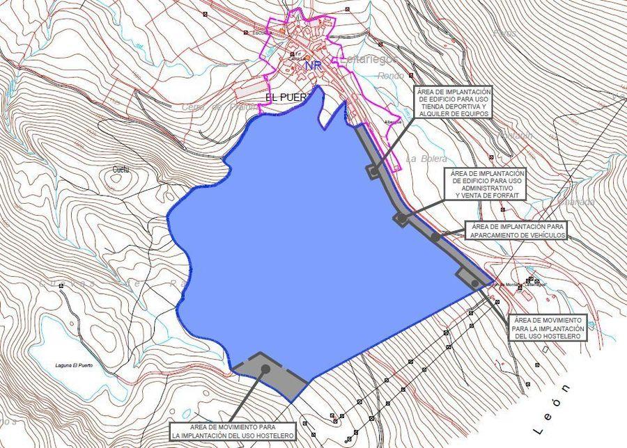 Plan de ampliación de Leitariegos