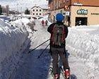 Esquiando en casa
