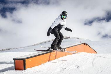 El snowpark de Sierra Nevada abierto en su totalidad