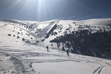 Otras nevadas que hicieron historia en las estaciones de FGC