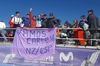 Cádiz 'adopta' a un freestyler neozelandés