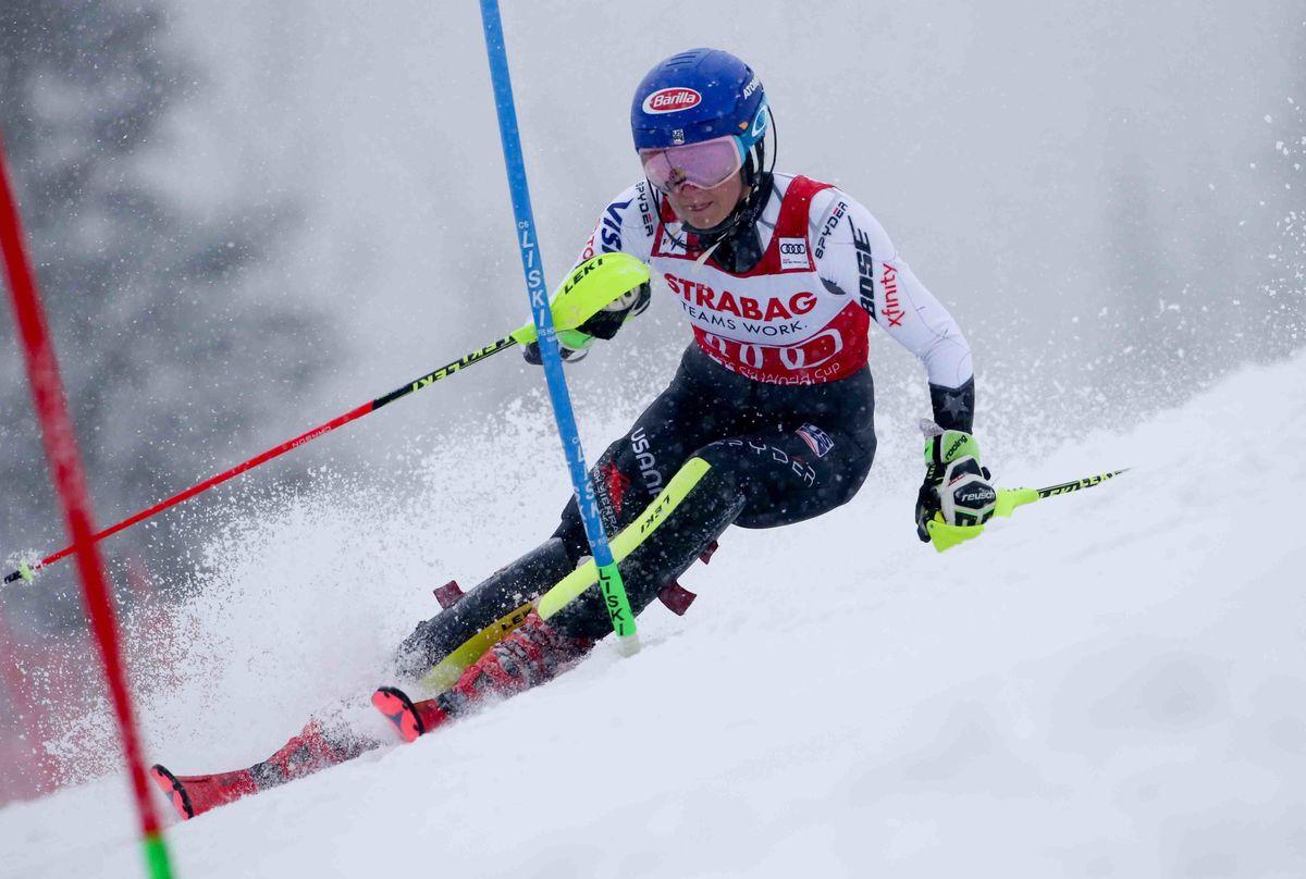 Mikaela Shiffrin Slalom Spindleruv Mlyn