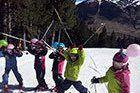 La familia crece esquiando. Temporada 2,014-15 en Cerler.