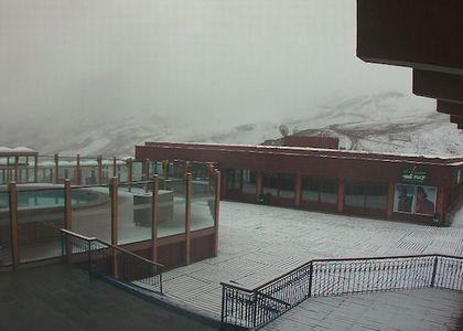 Cae Nieve en Los Tres Valles