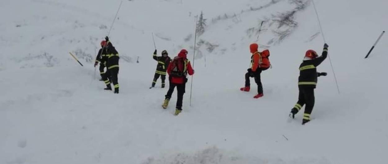 Fallece un esquiador italiano por una avalancha en Cortina d'Ampezzo