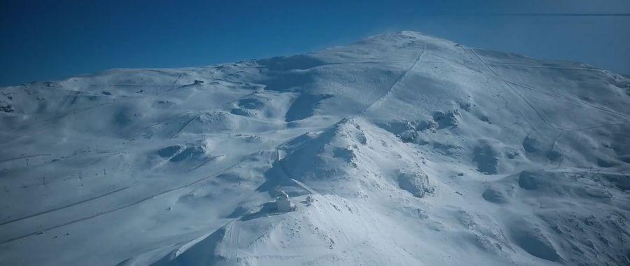 montaña de sierra nevada