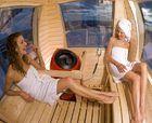 La estación de esquí japonesa de Hakuba coloca cabinas con sauna