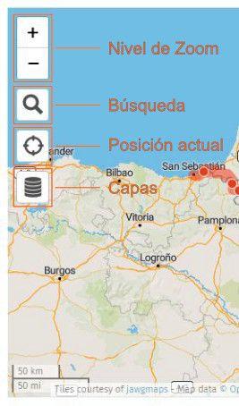 Instrucciones mapa de rutas por los puertos del Tour en el Pirineo