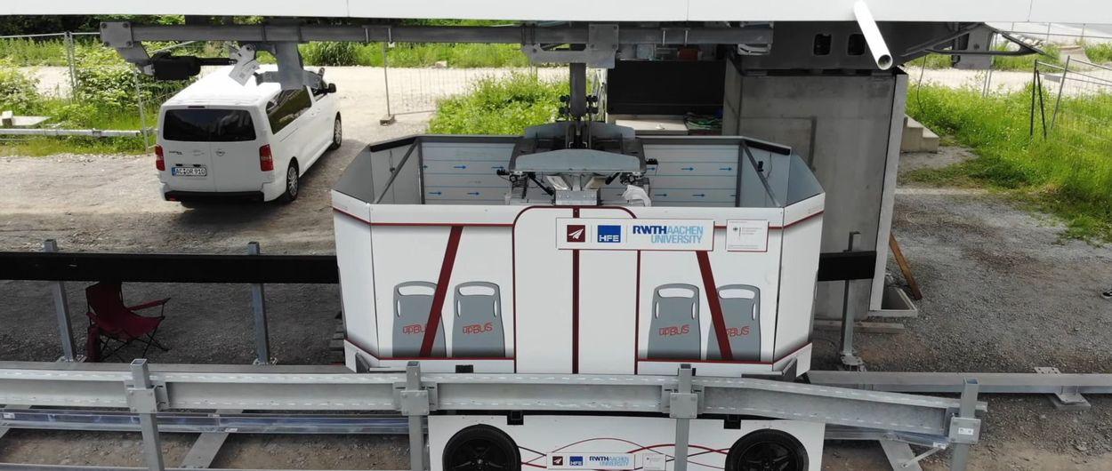 upBUS: el telecabina con ruedas que hará de los hoteles un pie de pista de esquí