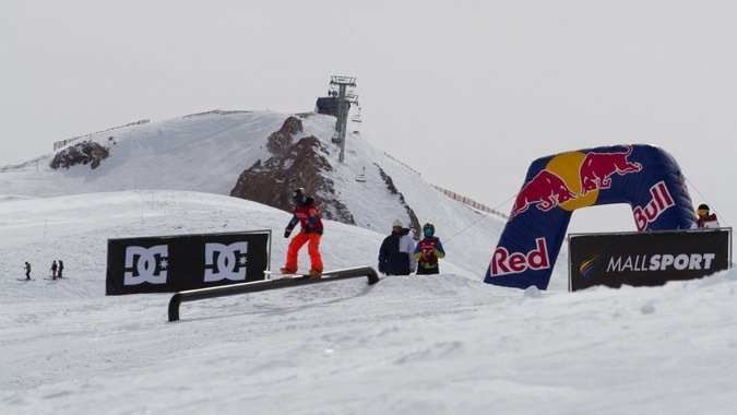 Valle Nevado recibe la sexta edición del World Rookie Tour