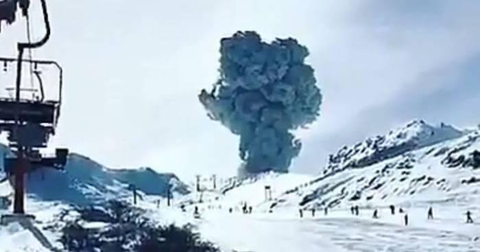 Nuevo Pulso Eruptivo en Nevados de Chillán