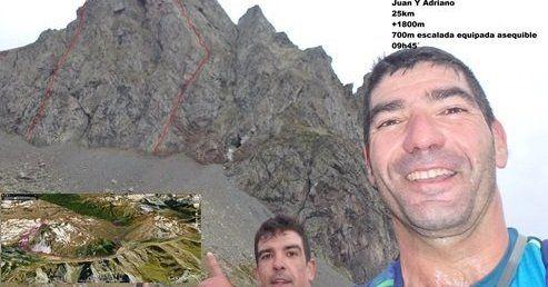 """Anayet: Vías """"Balcones del Anayet"""" y """"Sueño de verano"""" por Canal roya (350m/V x2) :monta::birra:"""
