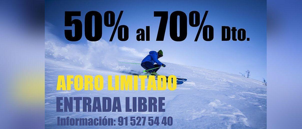 Vuelve a Madrid el legendario Outlet de esquí Tornal Moya