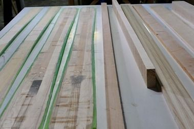 Cómo fabricar un esquí a medida: 3. Madera y Sidewalls