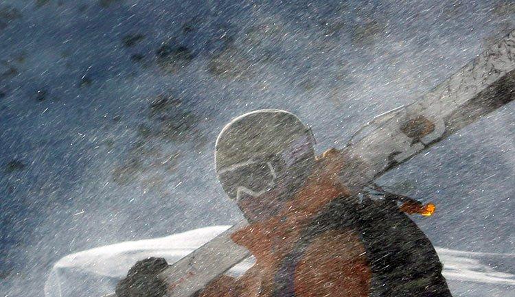 el esquí...