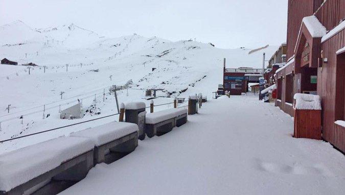 Inesperadas nevadas en los centros de ski