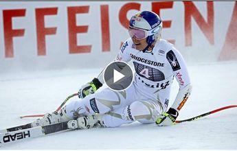 Posible nueva lesión de Lindsey Vonn en el Super-G de St. Moritz