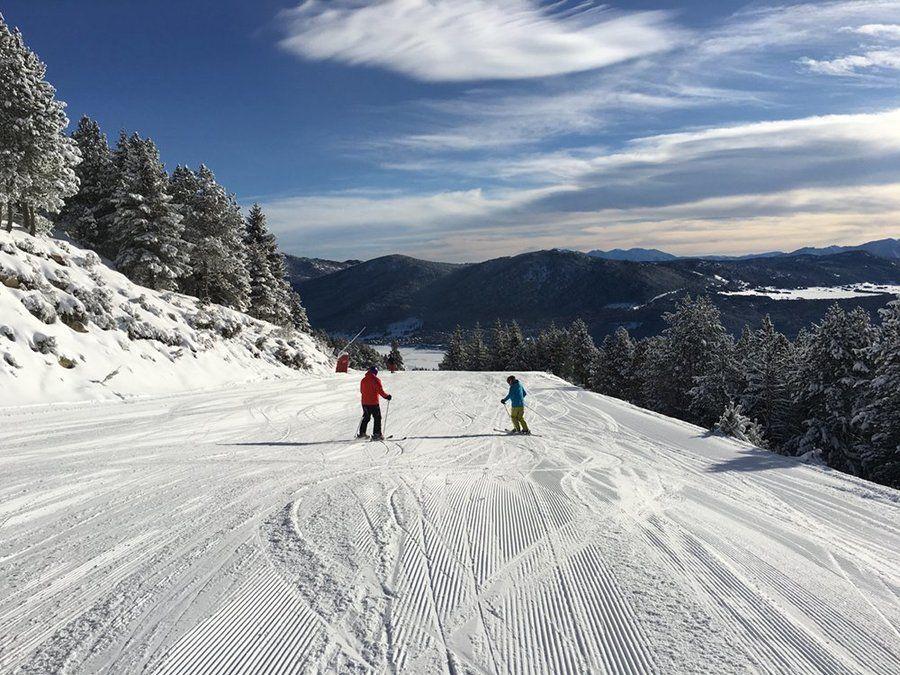 Pistas anchas y con baja densidad de esquiadores en Les Angles