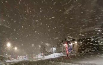 Valdez recibe una nevada muy bestial