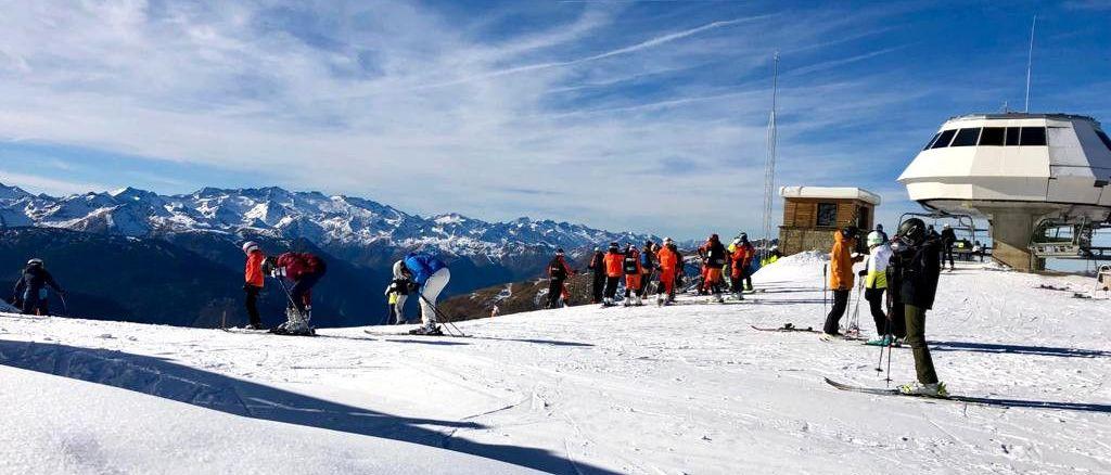 Baqueira cierra el Puente de la Inmaculada con 40 km esquiables