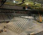 La Molina 2011 ya construye su rampa interior en el Palau Sant Jordi