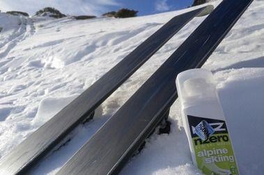 Review ceras NZero. Ceras de esquí 100% ecológicas.