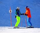 ¿Por qué los esquiadores de nivel alto se cansan menos?