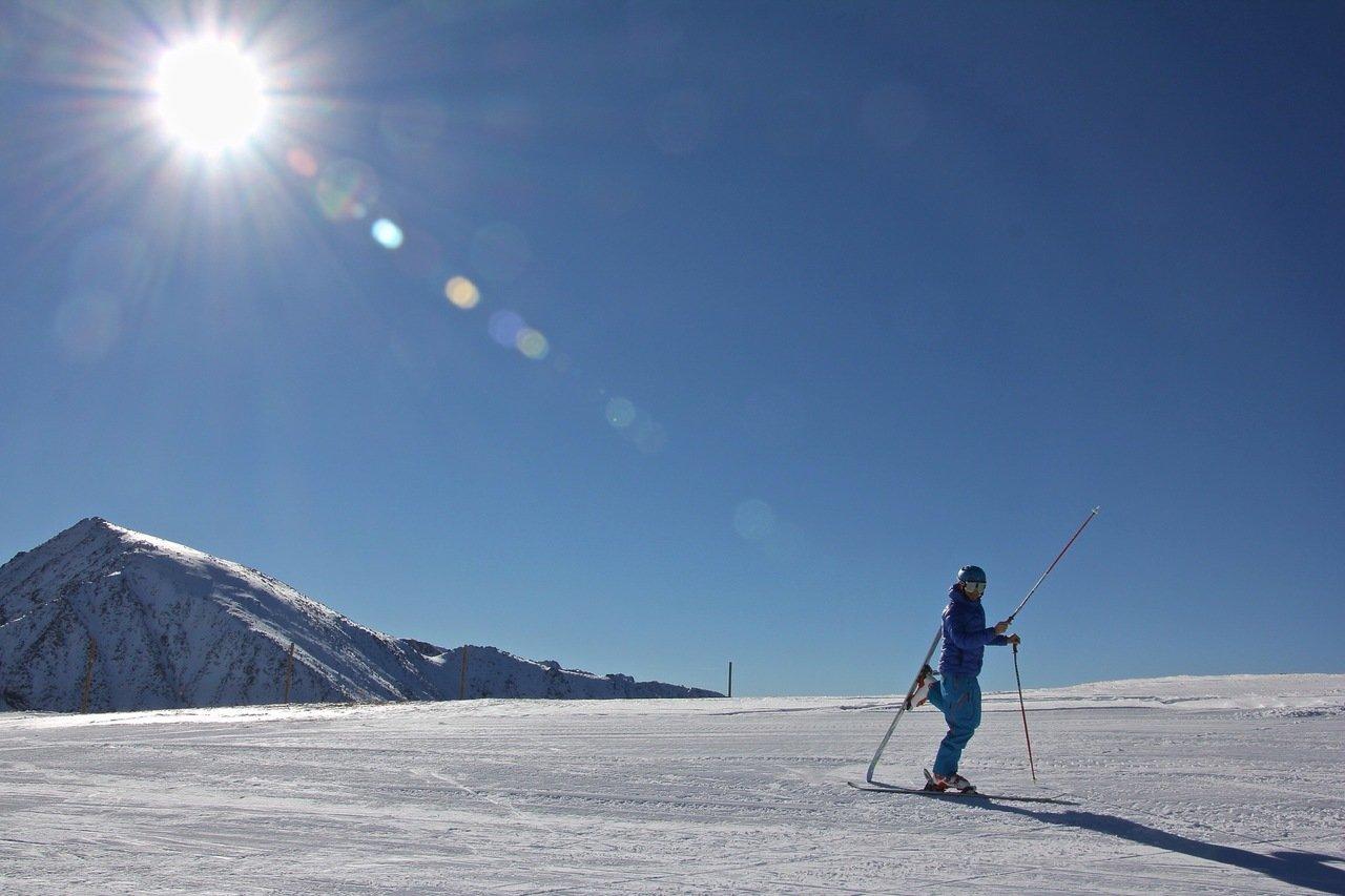 Propósitos de esquiador