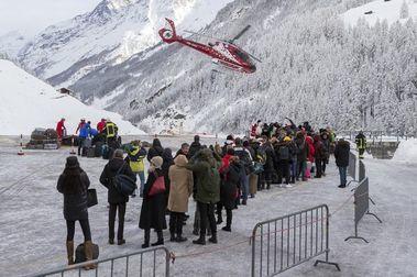 13.000 turistas quedan atrapados en Zermatt
