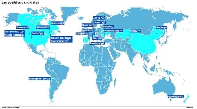 Unas 20 Ciudades Luchan Por Los Juegos Olimpicos De 2022 Noticias