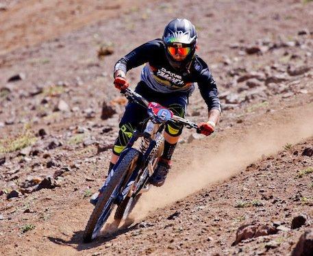 La Carrera de MTB Andes Pacífico comenzó en La Parva
