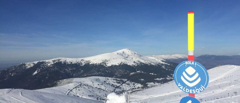 Valdesquí estrena la temporada con una nieve deliciosa