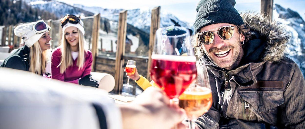 En Austria proponen imponer un límite de alcohol a los esquiadores
