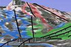 Mapa de pistas interactivo en 3D de Sierra Nevada