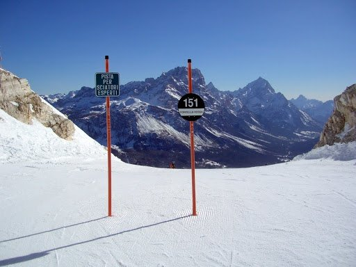 difficult slope