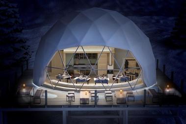 Los iglús de Formigal ya tienen el permiso para aceptar reservas