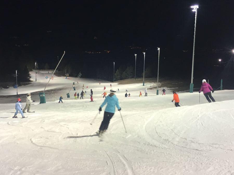 esqui nocturno Masella