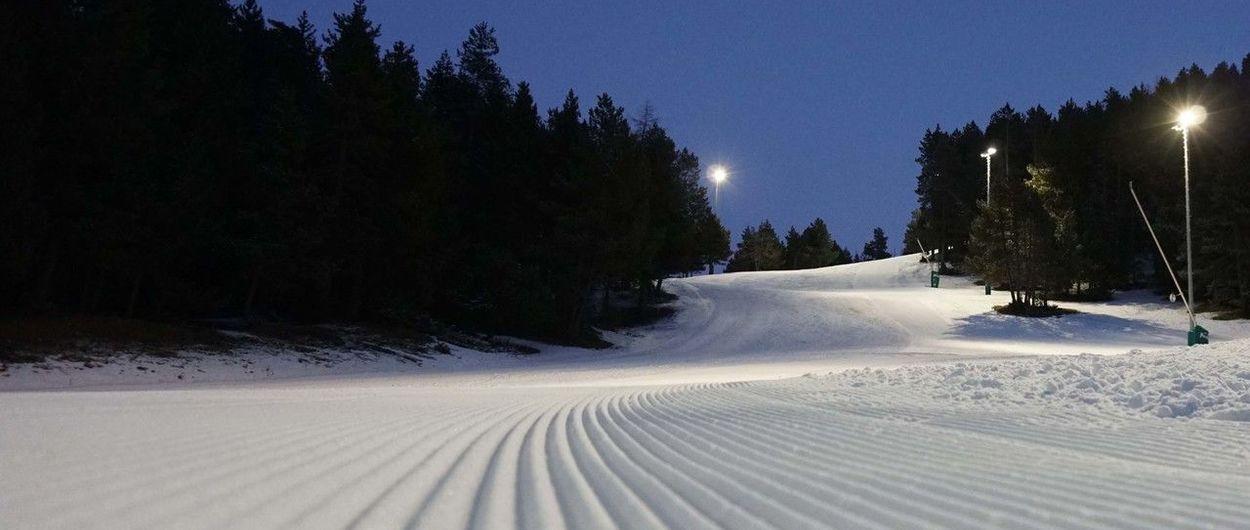 Masella cierra su temporada de esquí nocturno