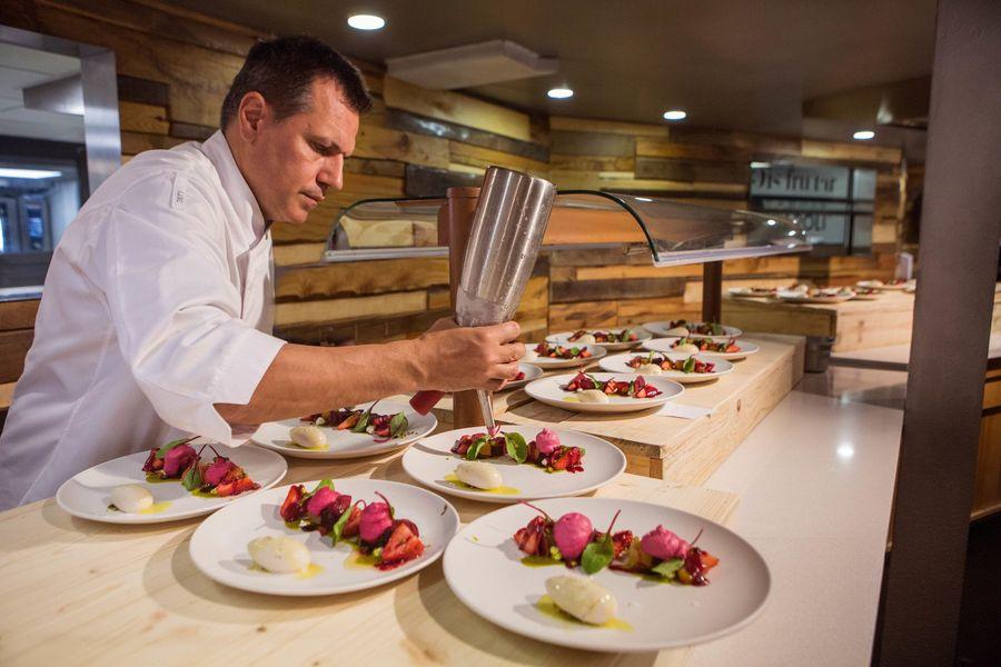 Oriol Castro cocinero