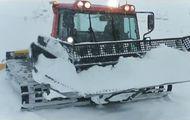 Una nevada deja más de medio metro en las pistas de Madrid