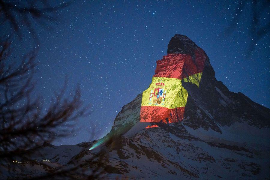 Zermatt bandera españa