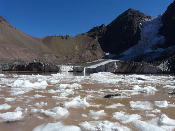 Glaciar El Morado: Esperando la Nieve