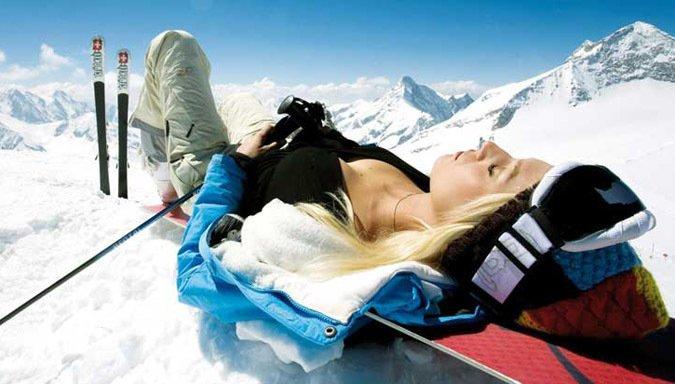Si vas a la nieve no te olvides del Bloqueador Solar